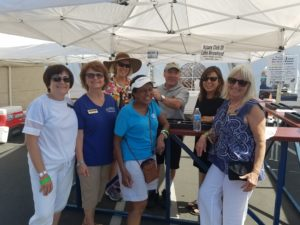 RIM ED. Volunteers earn education dollars by assisting Rotary Members at the 2016 Lake Arrowhead Wine & Art Festival