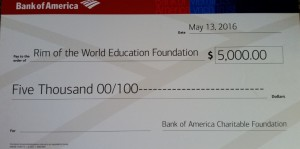 B of A Donation Check (800x397)